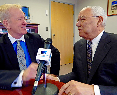 Chas Henry interviews Retired General, and former Secretary of State, Colin Powell.